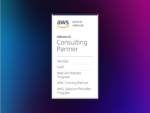 beSharp ha ottenuto l'AWS SaaS Competency all'interno del AWS Competency Program.